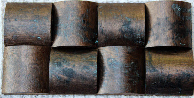 Charred wood panels