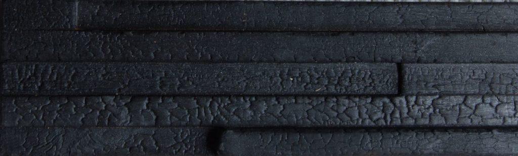 Charred panels