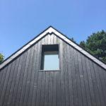 Charred wood panels
